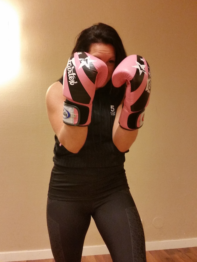 boxning eva strong healthy