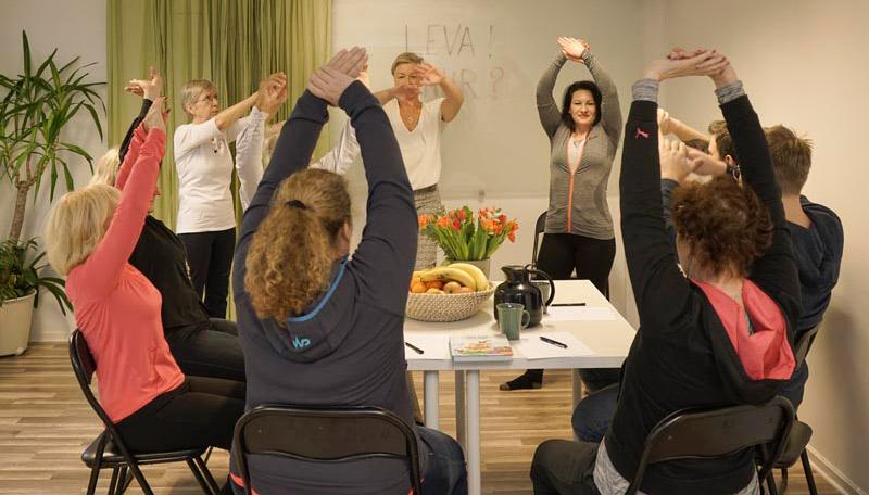 Paus-gymnastik, friskvård för företag